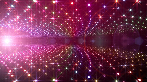 Disco Tunnel F1BA1 HD Stock Video Footage