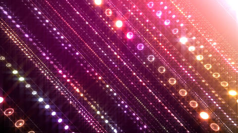 Disco Tunnel L1LC1 HD Stock Video Footage