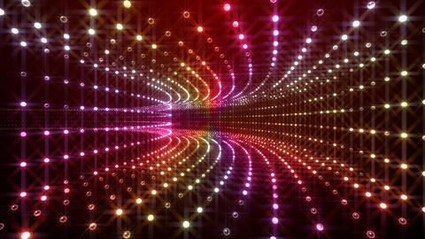 Disco Tunnel P1BA1 HD Stock Video Footage