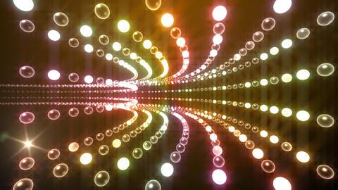 Disco Tunnel P1LA1 HD Stock Video Footage
