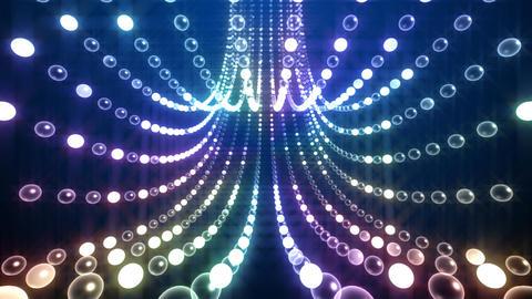 Disco Tunnel P1LB1 HD Stock Video Footage