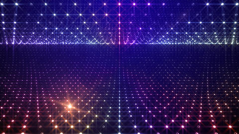 Disco Tunnel W1BB1 HD Animation