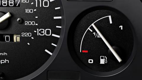 Fuel Gauge Stock Video Footage