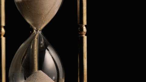 Hourglass rotating Stock Video Footage
