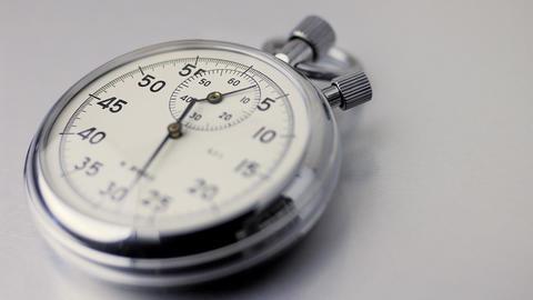 Timelapse Stopwatch Stock Video Footage
