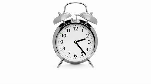 Alarm Timelapse Stock Video Footage