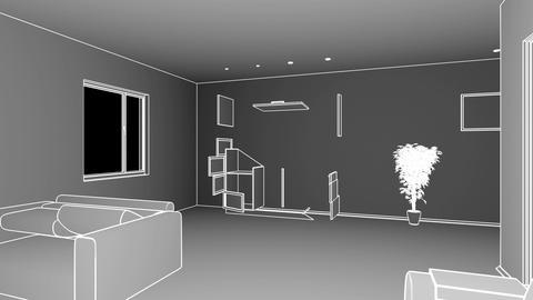 Interior creation Stock Video Footage