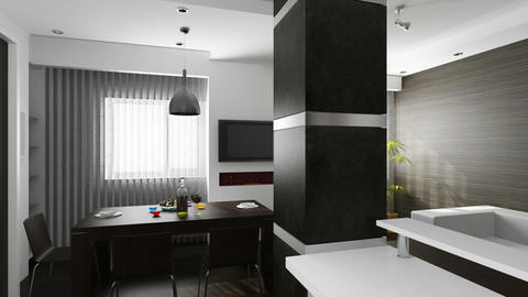 Interior creation Animation