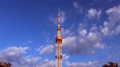 TV tower Stock Video Footage