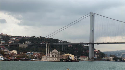 bosphorus bridge Stock Video Footage