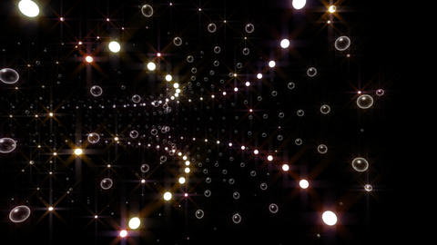 Disco Tunnel C2LA2 HD Stock Video Footage