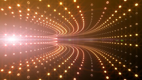 Disco Tunnel P2BA2 HD Stock Video Footage
