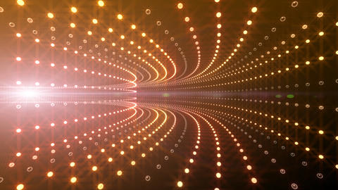 Disco Tunnel P2BA2 HD Stock Video Footage