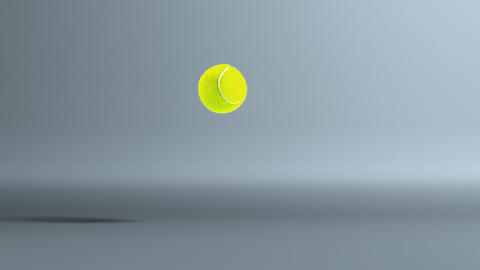 tennis ball dropoff Stock Video Footage