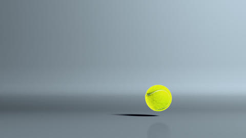 tennis ball dropoff Stock Video Footage