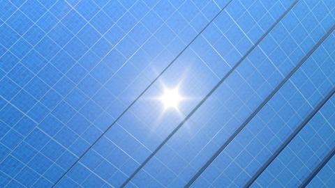 solar Panel Hg2 HD Animation