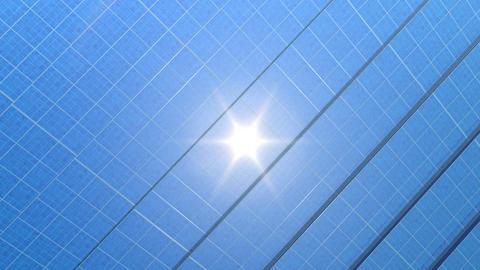 solar Panel Hg2 HD Stock Video Footage
