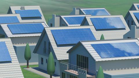 solar Panel Ja2 HD Animation