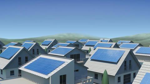 solar Panel Jb4 HD Animation