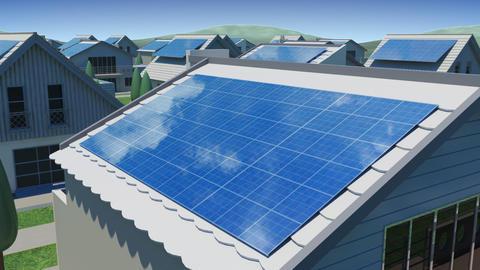 solar Panel Jc2 HD Stock Video Footage