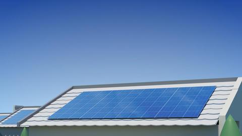 solar Panel Jee3 HD Stock Video Footage