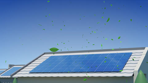solar Panel Jee5 HD Stock Video Footage