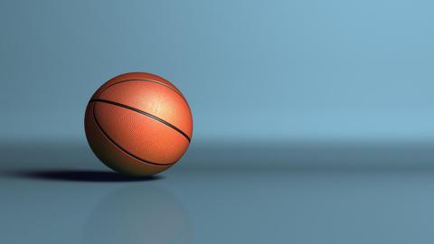 sport basketball ball dropoff Stock Video Footage