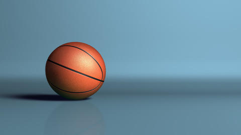 sport basketball ball dropoff Stock Video Footage