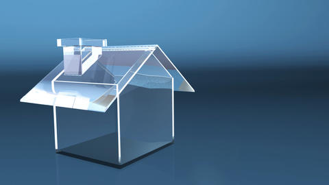 business glass house Animation