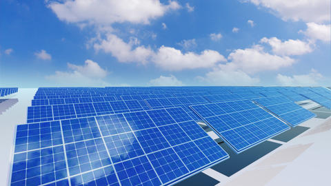 Solar Panel Ca3 HD Stock Video Footage