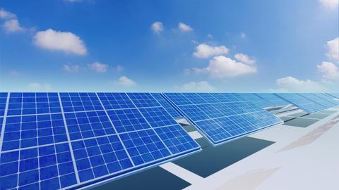Solar Panel Ca5 HD CG動画