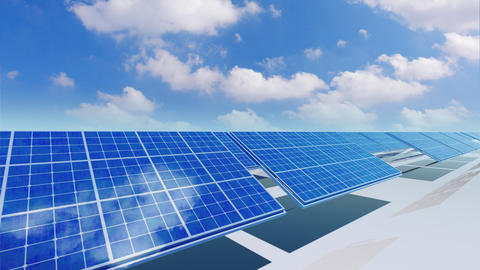 Solar Panel Ca5 HD Stock Video Footage