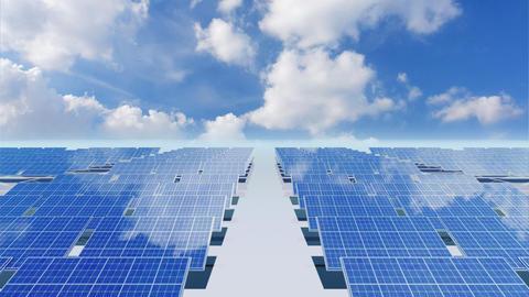 Solar Panel Cb3 HD Stock Video Footage