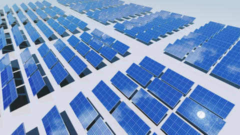Solar Panel Cc2 HD Stock Video Footage