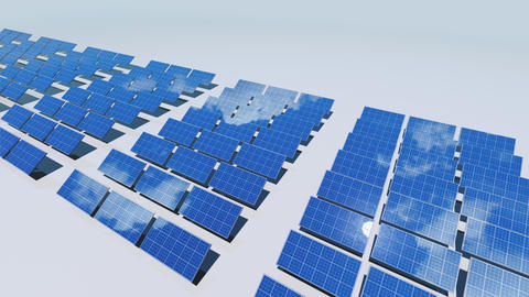 Solar Panel Cd2 HD Animation