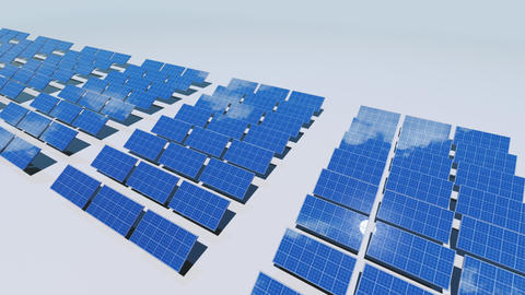 Solar Panel Cd2 HD Stock Video Footage
