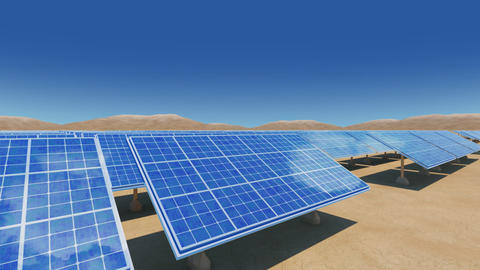Solar Panel Sa2 HD Animation