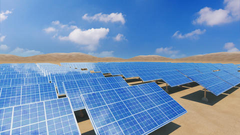 Solar Panel Sa4 HD Animation