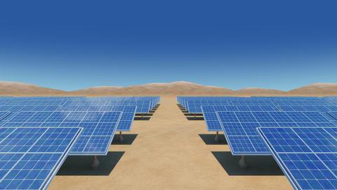 Solar Panel Sb2 HD CG動画