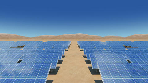 Solar Panel Sb2 HD Stock Video Footage