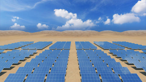 Solar Panel Sb4 HD Stock Video Footage