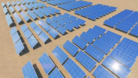 Solar Panel Sc3 HD Stock Video Footage