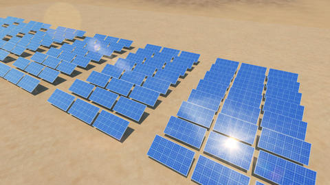 Solar Panel Sd3 HD Animation
