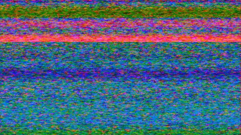 TV Noise 0108 HD-NTSC-PAL Stock Video Footage