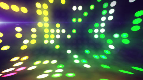 Disco lights scene loop Animation