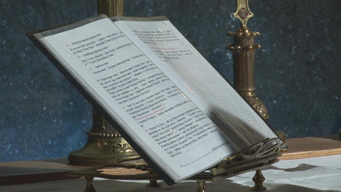 scripture Stock Video Footage