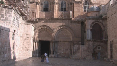 Holy Sepulchre 1 Stock Video Footage