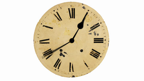 Crazy Clock Stock Video Footage