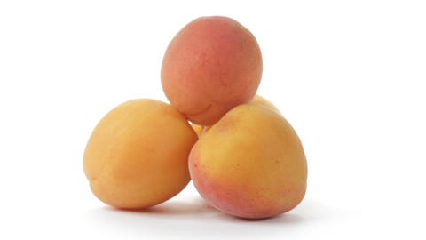 Apricots Stock Video Footage