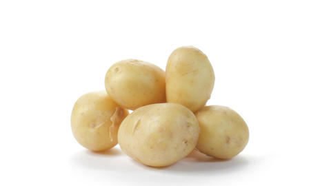 Salad Potatoes Stock Video Footage
